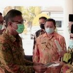 Bupati Ciamis Serahkan Hibah Berupa 28 Unit Sepeda Motor Kepada MUI Kecamatan