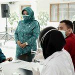 Peringati Hari Ibu Ke-92, TP PKK Kabupaten Ciamis Gelar Rapid Tes Gratis Bagi Kaum Perempuan