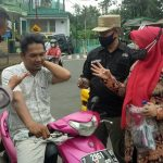 Tegakan Pelaksanaan PPKM, Camat Cikoneng turun langsung pantau Operasi Yustisi