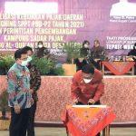 Tumbuhkan kesadaran Membayar Pajak, Bupati Ciamis Launching SPPT PBB-P2 Tahun 2021