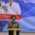 Hadiri Talk Show Wirausaha Goes to Campus, Wabup Ciamis Sebut HIPMI Sebagai Mitra strategis