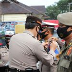 Polres Ciamis Gelar Apel Pasukan OPS  Keselamatan Lodaya-2021