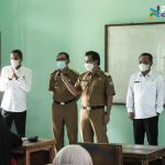 Wakil Bupati Ciamis Tinjau Pelaksanaan Uji Coba PBM Tatap Muka