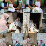 Milad Aisyiyah Ciamis Ke-104, Orang Tua Murid TK ABA & Lazismu Ciamis Salurkan Bantuan Sembako
