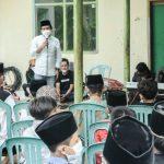 Wakil Bupati Ciamis Serahkan Santunan Anak Yatim dan Jompo Yayasan Nurussalam Cidolog