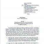SE Bupati Ciamis Nomor: 451.11/386-Kesra Tentang Pelaksanaan Shalat Idul Fitri 1442 H/2021 M saat Pandemi Covid-19 di Kabupaten Ciamis