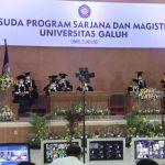 Wakil Bupati Ciamis Hadiri Wisuda UNIGAL ke-33