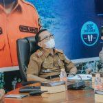 Pemkab Ciamis Ikuti Rakor Komite Kebijakan Penanganan Covid-19 bersama Pemprov Jawa Barat