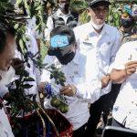 Wakil Bupati Hadiri Panen Raya Jeruk Ladoer di Desa Wisata di Cidolog