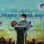 Buka Talkshow Toleransi di Era Digital, Wabup Ciamis Ajak Bijak Menggunakan Medsos