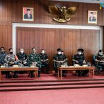 Bupati Ciamis dan Forkopimda Ikuti Rakor Komite Kebijakan Penanganan Covid-19 Provinsi Jawa Barat