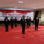 Wabup Ciamis Hadiri Upacara Peringatan Hari Bhayangkara ke-75