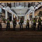 Gunakan Sepeda, Wabup Ciamis Pantau Penerapan PPKM Darurat pada Malam Hari