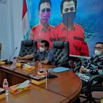 Wabup Ciamis Ikuti Rapat Evaluasi PPKM Darurat dengan Menko Luhut