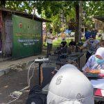 Penegakan PPKM Darurat di Pasar Ciamis Jaring 17 orang pelanggar.