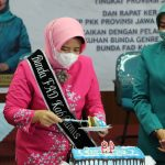 Atalia Praratya Kamil Lantik dan Kukuhkan Kania Ernawati Herdiat sebagai Ketua FORIKAN, Bunda Genre, Bunda Literasi dan Bunda FAD Ciamis.