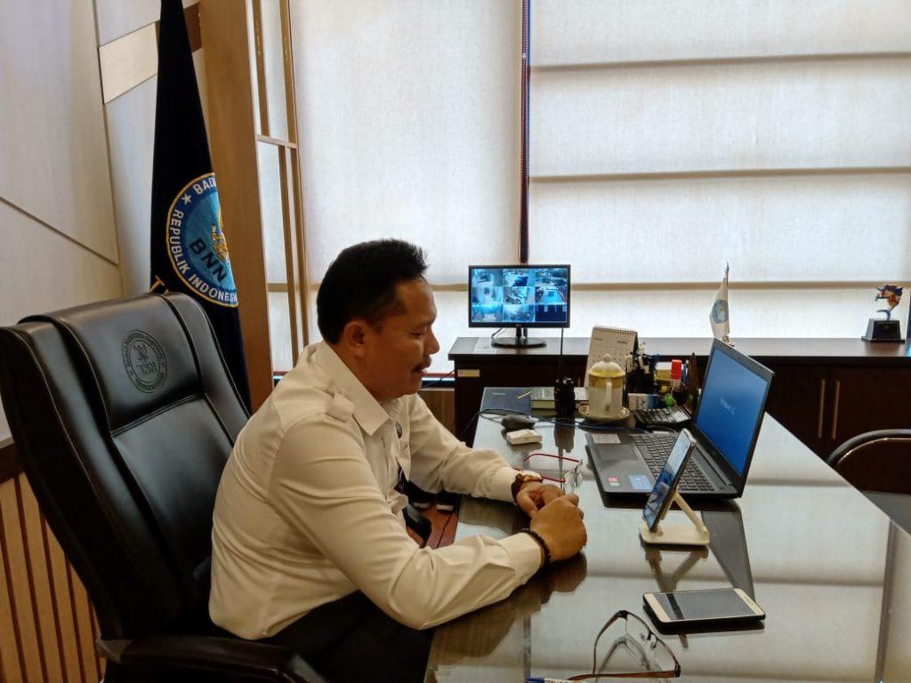 Komunitas Literasi Galuh Kabupaten Ciamis Gandeng BNNK Ciamis Gelar Virtual Sharing Session Tentang Bahaya Narkoba