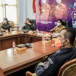 Rakor Komite Penanganan Covid- 19, Kondisi BOR Ciamis Masih Tertinggi Tingkat Jabar