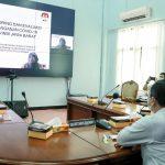 Pemkab Ciamis Ikuti Sosialisasi KPK tentang Pencegahan Korupsi Penanganan Covid-19