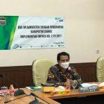 Optimalkan Pelaksanaan Jamsostek, Wabup Ciamis Terima Audiensi BPJS Ketenagakerjaan Cabang Banjar