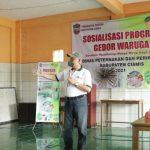 Gedor Waruga di Sindangkasih, Kadisnakan Ciamis Sosialisasikan Keamanan Pangan Asal Ikan