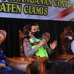 Kapolda Jabar Apresiasi Penanganan Covid-19 di Kabupaten Ciamis