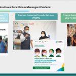 Tanggulangi Permasalahan Kemiskinan, Wabup Ciamis Ikuti Rakor Bersama TKPK Provinsi