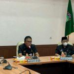 Bupati Ciamis Tutup Diklatsar CPNS Golongan III Angkatan 3 dan 4 Kabupaten Ciamis Tahun 2021 Secara Virtual