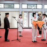 Wakil Bupati Ciamis Kukuhkan 52 Calon Anggota Paskibraka