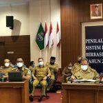 Kementerian PAN RB Lakukan Penilaian Interviu Evaluasi SPBE Pemkab Ciamis.