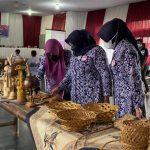 Ketua Dekranasda Ciamis Buka Bimtek Kerajinan Bambu