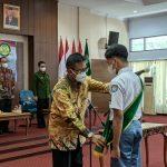 Bupati Ciamis Kukuhkan Forum Pelajar Sadar Hukum dan Penobatan Duta Hukum dan HAM